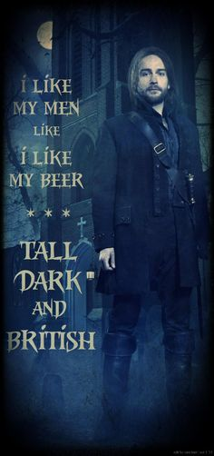 "Tom Mison as Ichabod Crane in Sleepy Hollow: ""Tall Dark and British"""
