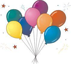 Resultado de imagem para imagem de balão de aniversario