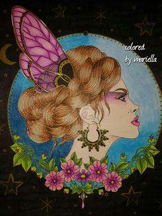 #dagdromar #daydreams #hannakarlzon #summernights #prismacolor #sharpie colored by mariella