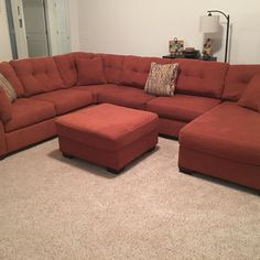 For Sale: 3 Piece Sectional w/chase for $750