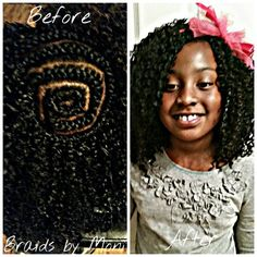 Crochet braids for kids www.styleseat.com/immonatriafortune