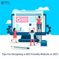 Rightly done SEO is essential for determining the success of your website. Then why not design your website to be SEO friendly in itself? Click on the link to learn efficient tips for designing an SEO friendly website in 2021 #socialmedia #digitalmarketing #contentmarketing #growthhacking #startup #SEO #SMM #SEM #SMO #Leadgeneration #emailmarketing #emailmarketingservices #digitalmarketingservice #digitalmarketingagency #webgentechnologies #DigitalMarketingCompany Online Marketing Services, Best Digital Marketing Company, Mobile Application Development, App Development Companies, Web Application, Advertising Strategies, Branding Services, Web Design, Graphic Design