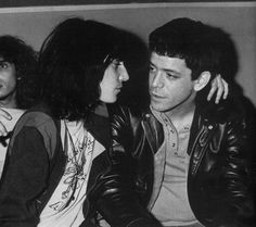 Lou Reed and Patti Smith