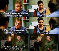The last frame is a GIF... Carter's reaction is priceless! :)