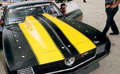 Killer 1969 Camaro with a gorgeous cowl hood.