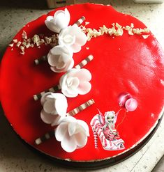 #entremet #fruitsrouges #genoise #compotesdefruits #vanille #cremevanille #crememontee #crememonteevanille #patedamande #dessert #patisserie #homemade #homemadefood #homemadecooking #instafood #douceursucrees Cake, Desserts, Food, Vanilla Cream, Gentleness, Tailgate Desserts, Deserts, Kuchen, Essen