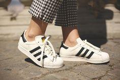 Adidas Superstar, Fashion Blogs, Adidas Gazelle, Adidas Shoes, Pretty Woman, Fitness, Women, Style, Mini Bag