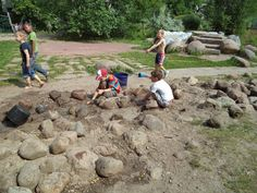 natural play areas for schools - Google Search