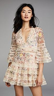 63075ecd338ab online shopping for Zimmermann Lovelorn Floral Flutter Dress from top  store. See new offer for Zimmermann Lovelorn Floral Flutter Dress