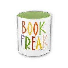 Book Freak Coffee Mugs