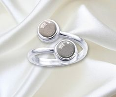 PET DOUBLE CREMATION Ring 925 Sterling Silver by InHeavensName
