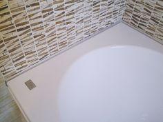 Mosaico nel bagno di un'abitazione privata a Conco (VI)