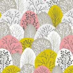 Arriving May 29 - First Light - Spring Woodland Fabric - Pink - Designer Fabric - Cloud 9 Organic Fabric Collections Cloud 9, Pink Fabric, Fabric Flowers, Cotton Fabric, Christmas Gifts For Girls, Christmas Gift Guide, Etsy Fabric, Bloom Baby, Photoshop