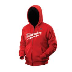 Cordless Black Heated Hoodie by Milwaukee Tool. Need a Milwaukee tool battery but most guys have them already if they own any Milwaukee-brand tools. Plumbing Tools, All Tools, Milwaukee Tools, Cordless Tools, Impact Wrench, Tools And Equipment, Power Tools, Tool Box, Mens Fashion