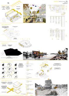 Ganador EUROPAN 13: OSURBIA: Redefiniendo la 'suburbia',Lámina 03. Image Cortesía de knitknot architecture