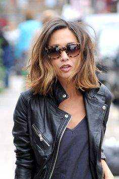 Myleene Klass oozes style as she picks her daughters up from school 835f35547