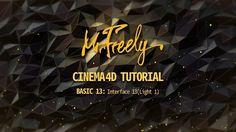 Cinema 4D tutorial_Basic13_Interface13 ( Light 1 ) (시네마4D 기초강좌_13강_인터페이스 13 ( Light 1 ) - YouTube