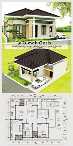 2 Storey House Design, Duplex House Design, Simple House Design, Small House Layout, House Layouts, Family House Plans, Small House Plans, Studio Apartment Floor Plans, 4 Bedroom House Designs