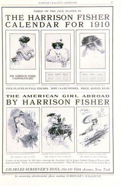Harrison Fisher Calendar for 1910