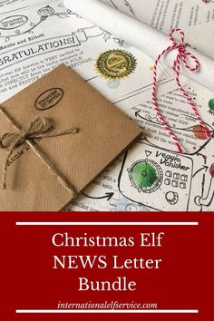 If Elf on the Shelf is a staple in your household at Christmas and you're always looking for fun new ideas when it comes to your Elf, take a look at our Elf News Letter Bundle.   The perfect accompaniment to Elf on the Shelf with news direct from the North Pole. Your kids will love this personalised addition to your Family Christmas Tradition. Christmas Elf, Family Christmas, Holiday, Gifts For Kids, Great Gifts, Elf Letters, Elf Yourself, North Pole, Christmas Traditions