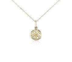 Blue Nile Heart-Shaped Garnet and Diamond Pendant in 18k White Gold (6mm) 9Ml0vlZpx4