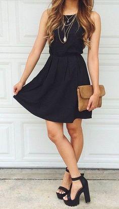 I dislike the shoes, but I love the dress and handbag.