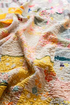 Nani Iro Dreams Quilt - In Color Order lots of tips for a double gauze quilt.