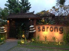 sarong restaurant . bar . lounge. We tried to go here one night, but it seems like it's pretty booked up, so you should call ahead. Our friend compares this to Spice Temple in Sydney (awesome).
