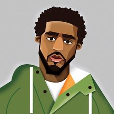 "J. Cole aka ""Don't Save Her"" #JCole #dontsaveher #shedontwannabesaved #eastcoast #east #newyork #frankfurt #germany #illustration #hiphop #rap #art #colorful #cartoon #design #designer #drawing #painting #music #rapper #creative #artist Illustration by Dale Edwin Murray @demillustration"