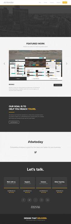 Dumbwaiter Web Design