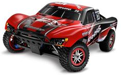 Its big, Its bad, Its rugged and its build to be driven on and over stuff, yeah there are other RC trucks on the marked but the Slayers reputation speaks for itself. The 4×4 delivers stable and reliable off road RC experience reaching speeds of up to 50 mph accompanied by ridiculous amounts of torque. $424.95 http://www.thercstop.com/traxxas-59074-slayer-pro-4-x-4-rc-truck/