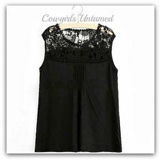 COWGIRL GYPSY TOP Lace Chiffon Flowy Boho Top#lace #crochet #top #blouse #shirt #boho #cowgirl #gypsy #summer #fashion