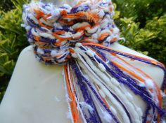 Clemson University Tigers Scarf by Sewstacy, $20.00