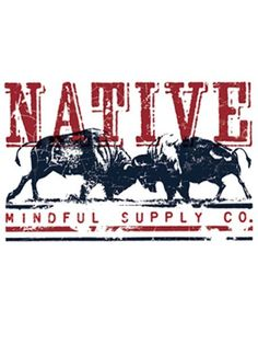 Mindful Supply Co Native T-Shirt (Mens), Made in USA
