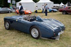 https://flic.kr/p/i9Xwqt | Austin Healey 100 BN1 Le Mans modification kit 1954 r3q | 2013 Classic Days Schloss Dyck - Jüchen