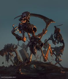 Dancing Skeleton, Bayard Wu on ArtStation at https://www.artstation.com/artwork/ZYKPN