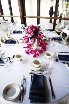 #table-settingsPhotography: Alexandra Meseke Photography - alexandrameseke.comRead More: http://stylemepretty.com/2011/08/09/sunken-meadow-park-wedding-by-alexandra-meseke-photography/