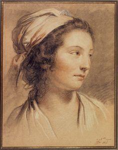 François-André Vincent(1746-1816), Portrait deMarie-Gabrielle Capet,vers 1780-1781, Paris,Petit Palais, musée desBeaux-Arts de la Ville...
