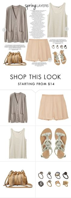 """""""easy as 1-2-3"""" by bellablondie ❤ liked on Polyvore featuring Organic by John Patrick, Elizabeth and James, Monki, ASOS, Diane Von Furstenberg, easy, cutecardigan and springlayers"""