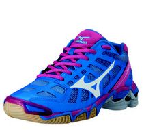 Mizuno Wave Lightning Z Women's Volleyball Shoes - Black & Alaskan ...
