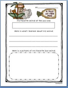 Field Trip Writing Record Freebie  Field Trips Homeschool And
