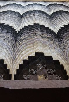 Bargello Pattern Amish Made Quilt