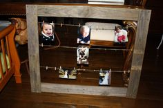 Pallet frame made for daughter as a Christmas present.