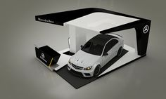 Mercedes-Benz C-Class 2014 Booth