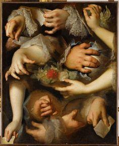 Nicolas de Largillière, - Study of Hands (Louvre, Paris) Rococo Painting, Painting & Drawing, Oscar Wilde, Illustrations, Illustration Art, Louvre Paris, Show Of Hands, Art Gallery, Reproduction