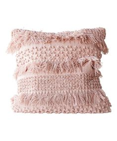 Loving this Pale Pink Throw Pillow on #zulily! #zulilyfinds