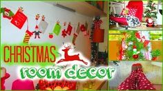 YouTube video on christmas room decoration
