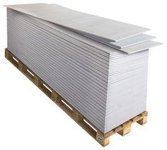 Chantier n°2 - Je pose mes plaques de plâtre.  Demi-plaque de plâtre BA13 NF  Demi-plaque : transport et accès au chantier facilités