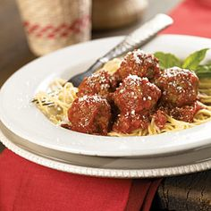 Cook the Kids Meal at Home | Lady and the Tramp Spaghetti and Meatballs | CookingLight.com