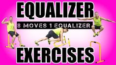 8 LEBERT EQUALIZER EXERCISES | Best Lebert Equalizer Bars Exercises Using Only 1 Dip Bar